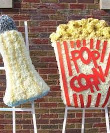 Popcorn and Salt Shaker