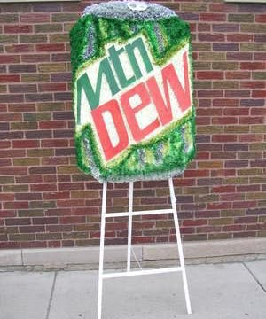 Can of Moutain Dew