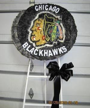 Blackhawks Hockey Puck