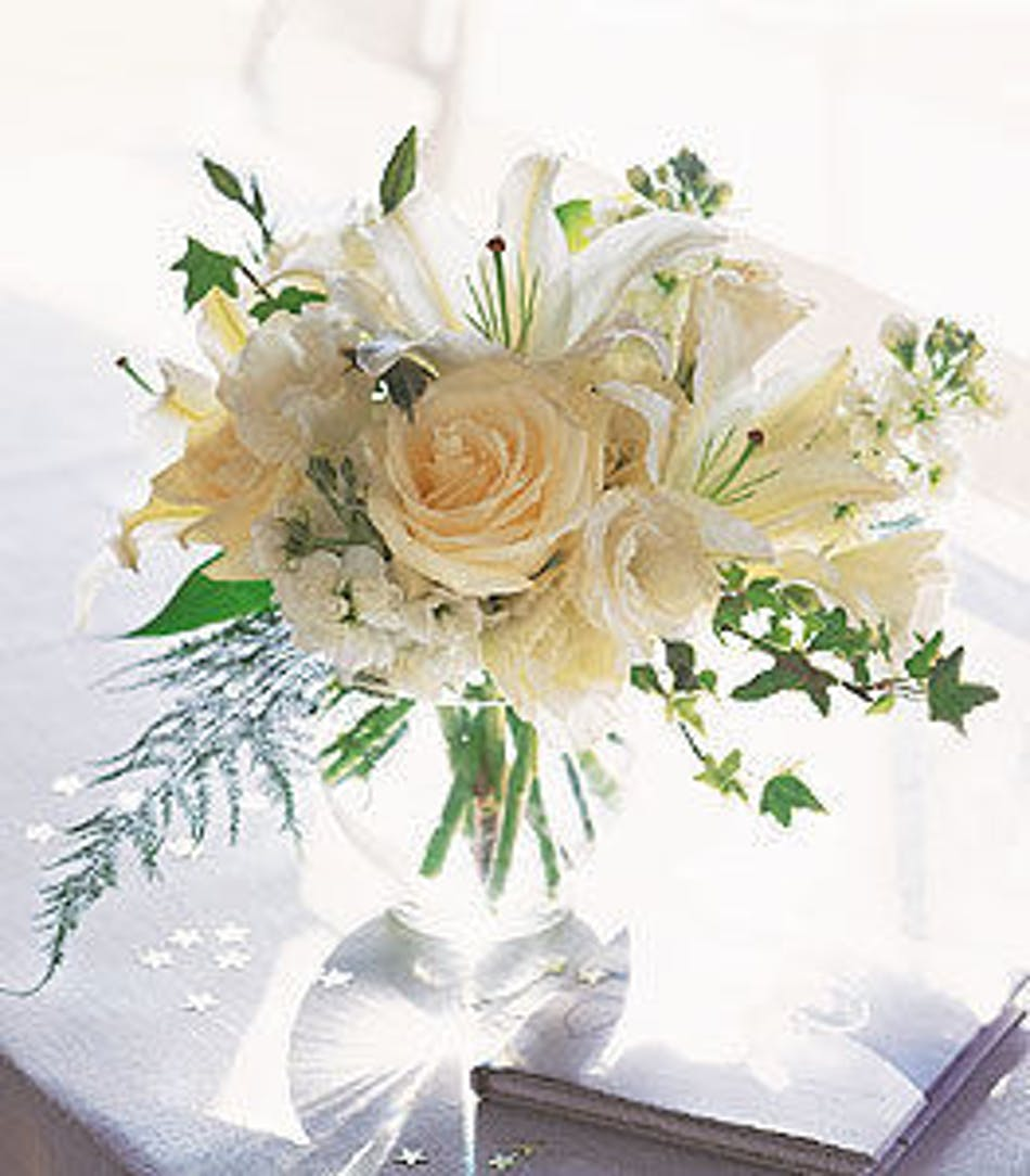 Lilies Roses Stock Just Gorgeous Flower Arrangements In Chicago