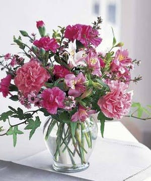 Assorted Pink flowers in price range right for you